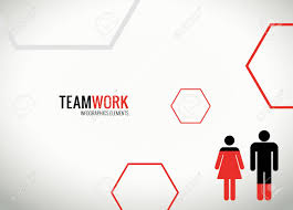 Teamwork Presentations Modern Teamwork Infographics For Presentations Stock Photo Picture