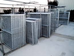 Image Swing Gate We Carry An Assortment Of Stock Size Chain Link Gates All American Fence Erectors Gate Installation In The High Desert Area All American Fence Erectors
