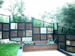 corrugated fence metal sheet designs fences panels privacy wood framed panel cost aluminum ideas