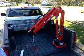 Truck Bed Mounted Crane Truck Bed Mounted Hoist For Hitch Removal ...