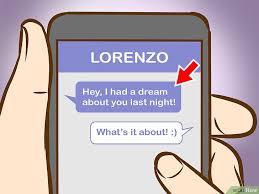 flirter avec un homme par sms