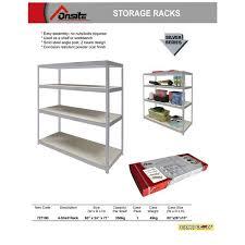 philippines onsite storage rack silver series 4 shelves rack 63