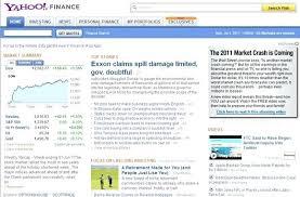 Scottrade Stock Quotes Yahoo Finance Stock Quotes Awesome Get Yahoo Finance Stock Quotes In 92