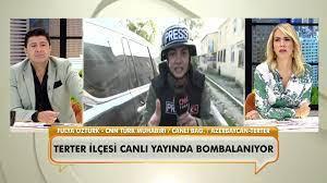 CNN Türk muhabiri Fulya Öztürk, Azerbaycan'dan canlı bağlantı yaparken  bombalar yağdı! - Neler Oluyor Hayatta? - Özel Klipler