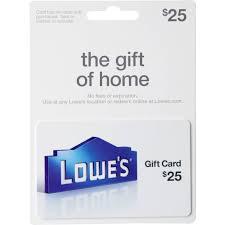 lowe s gift card