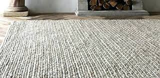 chunky braided wool rug twist restoration hardware rugs knit pattern area above handwoven in the target