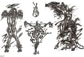 Motiv Tetování Andělé 851