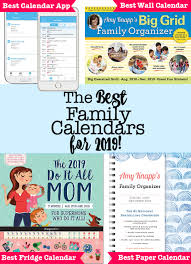 Create A Work Schedule Online Free The Best Family Calendars For 2019 Momof6