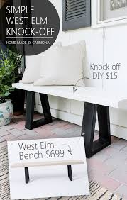 Image Lounge Chair West Elm Bench Knockoff Home Made By Carmona West Elm Bench Knockoff Home Made By Carmona