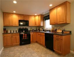 Fine Kitchen Color Ideas With Oak Cabinets Design Indiayour Home Your On Creativity