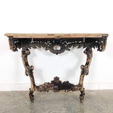 antique french louis xv rococo style