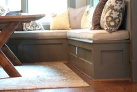kitchen banquette dimensions eclectic bench