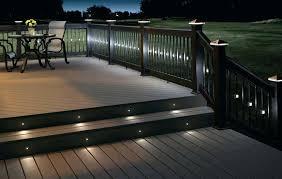outdoor led strip step lights outdoor lighting ideas