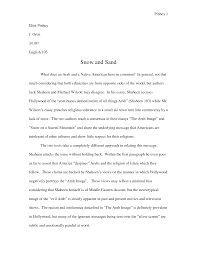 example of essay template example of essay