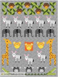 Jungle Friends quilt pattern - Coming Soon! (Sew Fresh Quilts ... & Jungle Friends quilt pattern - Coming Soon! (Sew Fresh Quilts) Adamdwight.com