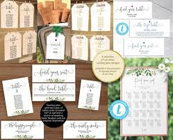 Navy Blue Wedding Seating Chart Kit Head Table Individual Printable Hanging Table Plan Template Informal Font 5x7 And 6x4 Templett