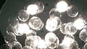 glass bubble light chandelier hanging glass chandelier chandelier fabulous floating bubble chandelier glass ball bubble