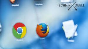 Mozillas Firefox gegen Google Chrome: Welcher Browser ist besser?