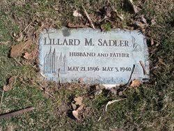 Lillard McKinley Sadler (1896-1940) - Find A Grave Memorial