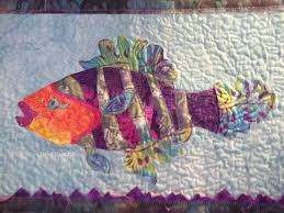 Fishy Quilt Learned From Susan Carlson Class Susan Carlson ... & Fishy Quilt Learned From Susan Carlson Class Susan Carlson Serendipity  Quilts Susan Carlson Art Quilts Susan Adamdwight.com