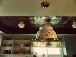 diy home lighting ideas. diy colander light fixture tutorial via home heart craft diy lighting ideas