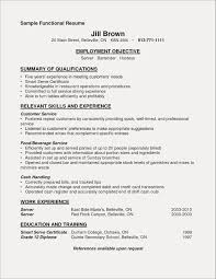 Sample Restaurant Server Resume Restaurant Server Resume Sample Beautiful Server Job Description for 51