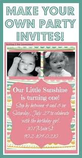 Design Your Own Invitations Free Create Your Own Invitations Online