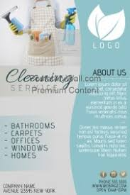 commercial cleaning flyer templates sample cleaning service flyers agi mapeadosencolombia co
