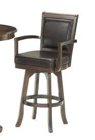 hillsdale bar stools. Hillsdale Bar Stools Ambassador Swivel Stool With Arms And Back Rich Cherry Collection