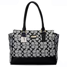 Best Style Coach Legacy Candace In Signature Medium Grey Satchels Arf  Outlet IJG1L