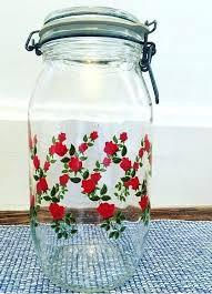 vintage arc glass jar strawberries 2 by france bowls oven safe