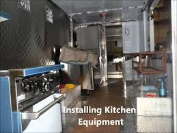 Mobile Kitchen Equipment Building Food Truck Mobile Kitchen Youtube