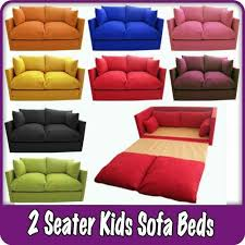 couch bed for kids. Kids Children\u0027s Sofa Fold Out Bed Boys Girls Seating Seat Sleepover Futon Guest $119.99 Couch For Y
