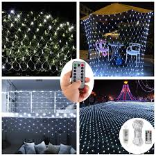Battery Operated Net Lights With Timer Battery Operated 200 Led Net Lights W Remote Timer 3 X 2 Meters Outdoor Led Net Mesh String Lights For Wedding Backdrops Christmas Holiday