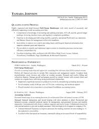 Resume For Bookkeeper Resume Sample Monster 4