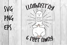Download our free svg files and use them in your electronic cutter such as silhouette and cricut machines. Llamastay 6 Feet Away Svg Design 562993 Printables Design Bundles In 2020 Svg Design Hand Lettering Cards Design Bundles