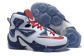 lebron james shoes 13 red. nike lebron 13 james basketball shoes white deep blue and red