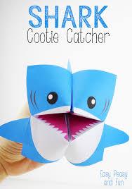 1 shark cootie catcher