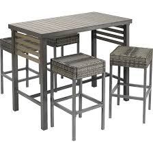 5 piece outdoor bar set