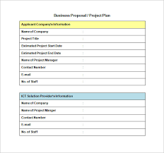 Business Proposals Templates Proposal Templates 140 Free Word Pdf Format Download Free