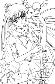 Small Picture coloriage sailor moon Coloring Pages Pinterest Sailor moon