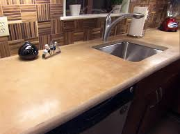concrete countertops colors to look like wood