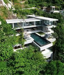 Steep Hillside Home Designs Steep Hillside House Plans Unique Plan Contemporary Ranch