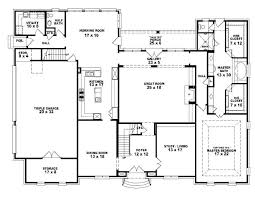 staggering house floor plans 4 bedroom 3 bath 2 story picture inspirations