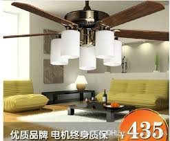ceiling fans with lights for living room. 2018 52 Inch Ceiling Fan Leaves Simple And Stylish Living Room Chandelier With Light European Retro Reversible From Yaling168, $471.47 | Dhgate.Com Fans Lights For R