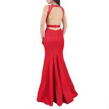 Red Net Dress Design Sleeveless Mesh Net Dress