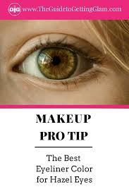 the best eyeliner color for hazel eyes here are simple makeup tips to find the