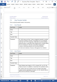 Business Plan Templates (40-Page Ms Word + 10 Free Excel ...
