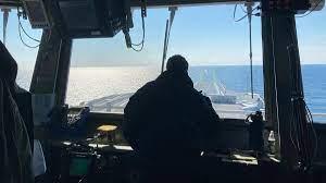 USS Ford braces for Tropical Storm Elsa ...