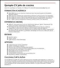 Ejemplo De Curriculum Vitae Facil Resume Pdf Download